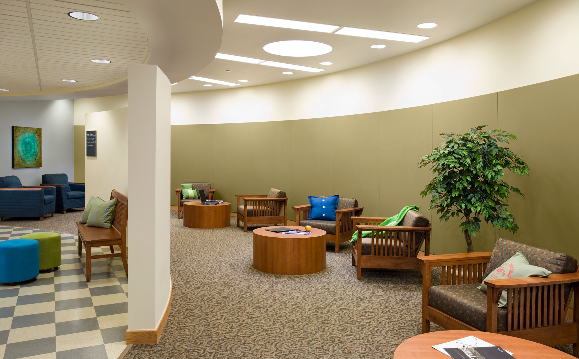 LED Tunable White lights in the nursing home