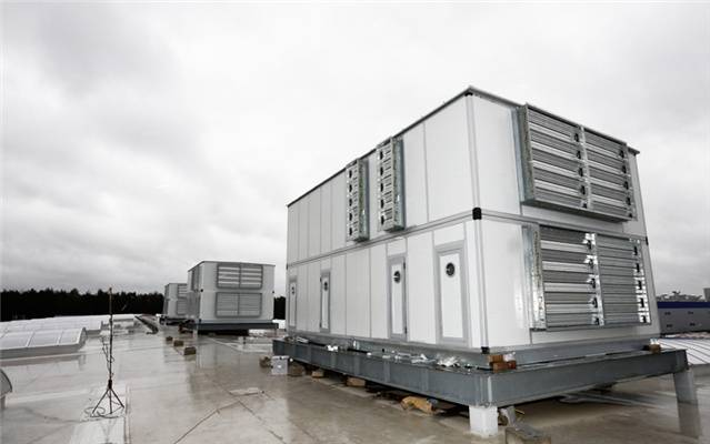 Air Handling Units for Belarus Geely Auto Manufacturing Workshop
