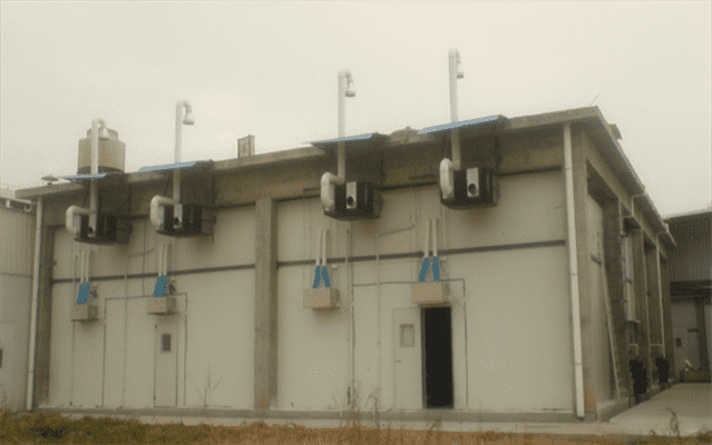 Guangdong Mushrooms Plant Mushroom Climate Control HVAC Solution
