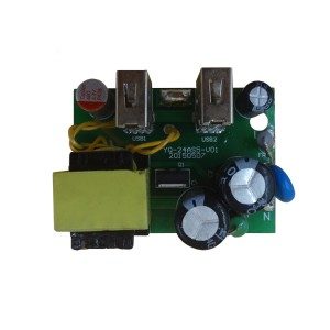 PCBA Circuit Board Manufacturer for Travel Adatper 2USB charger Assembly for Mobile Phone charger Power Adapter