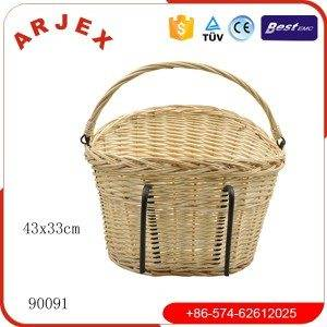 90091BICYCLE BASKET WICKER