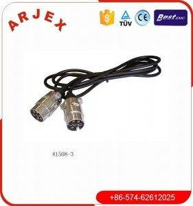 81.508-3 7P jocs de cable d'endoll
