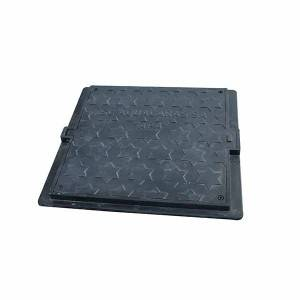 SF600B125F-101 hinged manhole cover with lock