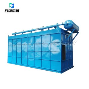 Air box pulse bag filter used in metallurgy, chemicals,machinery and civil boiler flue gas dust collection
