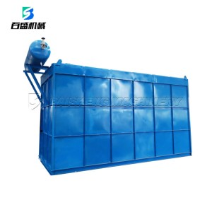Gas box pulse bag dust filter with low price