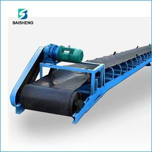TD75 belt conveyor loader for firewood/corn/rice