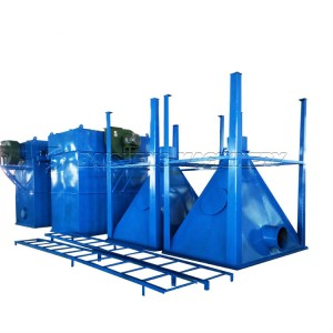 Baisheng Hot Sale Pulse jet bag house dust collector filter For Sale