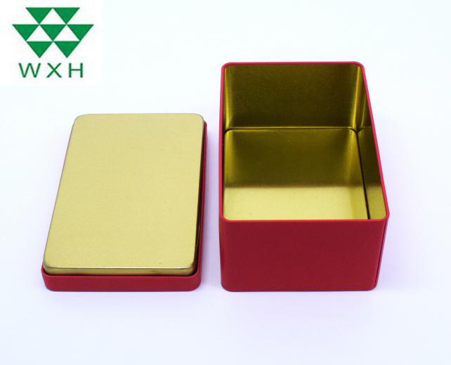 Special requirements for tinplate boxes