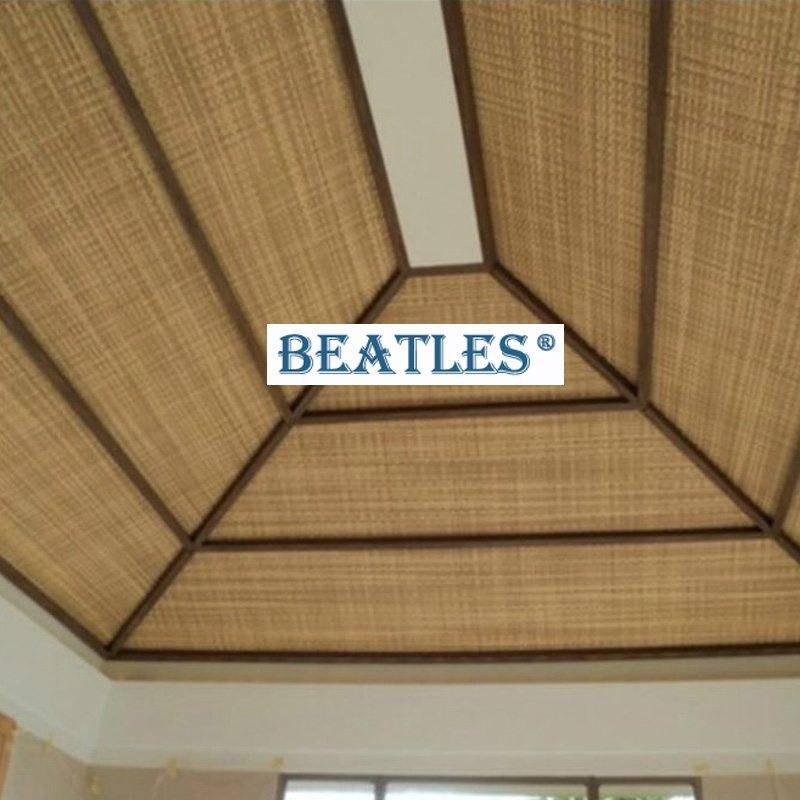 Reliable China supplier for synthetic woven reed straw tatami ceiling