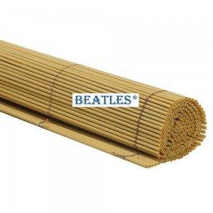 Synthetic plastic fake bamboo look blinds