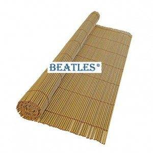 Plastic artificial bamboo fence for zoo decoration