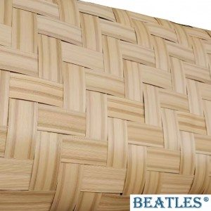 Lightweight fake bamboo matting for exterior facade curtain wall