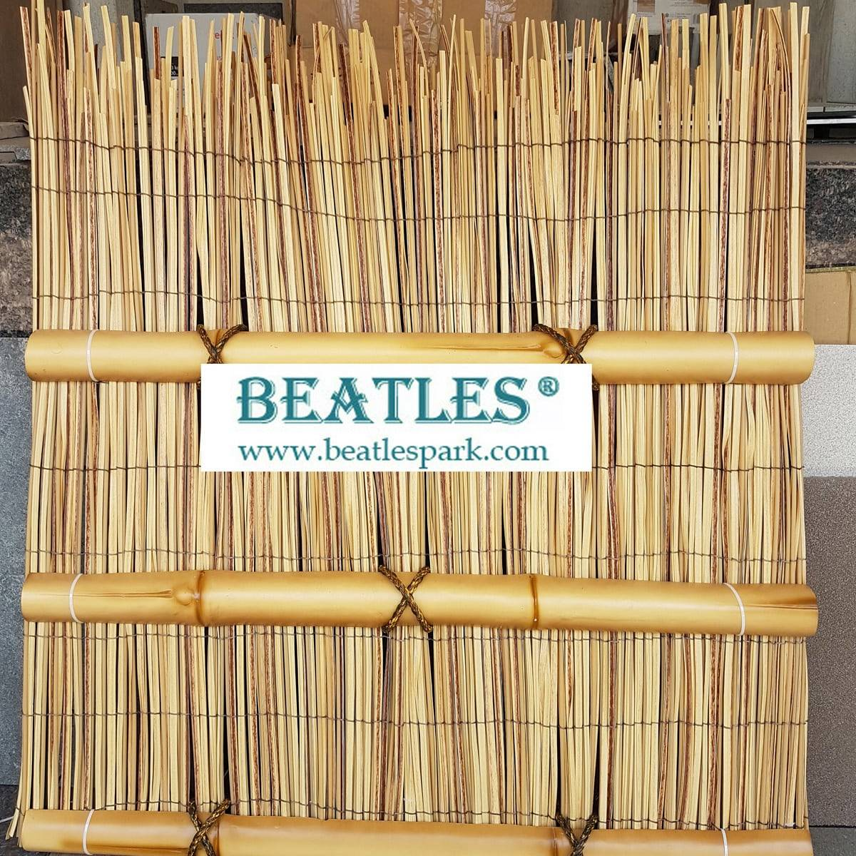 Plastic Privacy Rattan Reed Fence Panels for Screening
