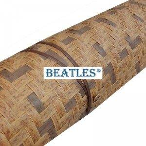 Artificial plastic synthetic resin bamboo facade mat