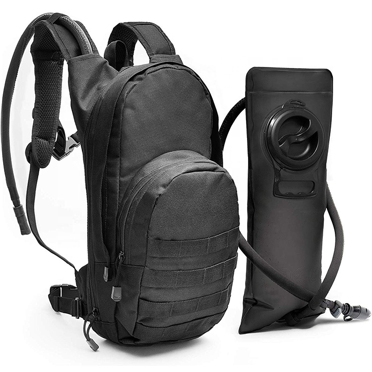 Tactical Molle Hydration Pack Backpack with 3L Water Bladder For Camping Hiking