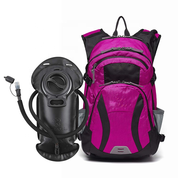 2L BPA Free Water Bladder Insulated Hydration Backpack Pack with bladder For Hiking Camping