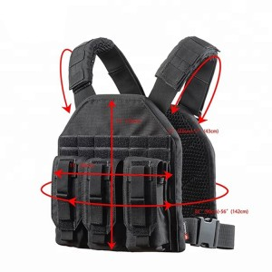 Men Assault Army Paintball Combat Molle Airsoft Military Camo Safety Tactical Vest