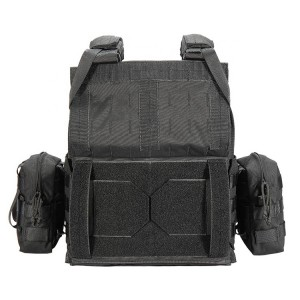 Wholesal Security Military Nylon Material Bulletproof Vest With Plated Carrier For Man
