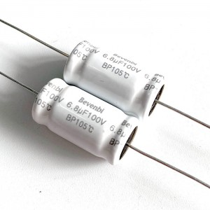 Axial kucken electrolytic capacitor