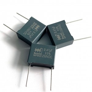 CL23(MEB) Box Metallized Polyester Film Capacitors