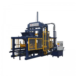 SEMI-AUTOMATIC BLOCK MAKING MACHINE QT5-20A4 (PATENTS)