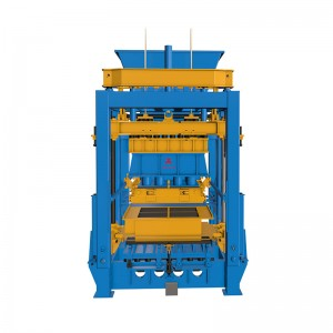 Concrete Block Making Machine QT15-15