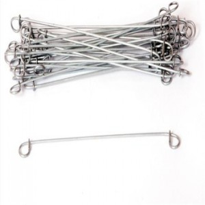 Wholesale OEM Shooting Nails - Zinc Coated Double Loop Tie Wire For Baling For Steel Bar – Bluekin
