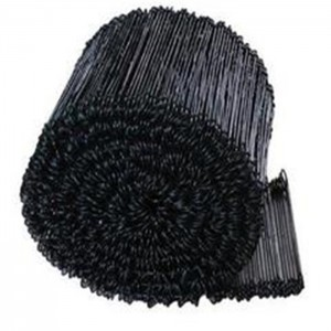 Black/ Coated Double Loop Tie Wire For Baling