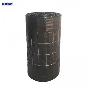"Best price 14GA 2"" X 4"" or 4""X 4"" Black Wire Backed PP Woven Silt Fence"