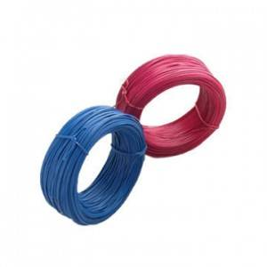 Factory Supply Customized Color High Tensile Pvc plastic Coated Galvanized Steel Wire