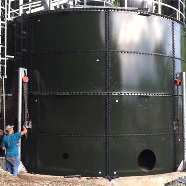 Construction of Water Storage Tank in Indonesia