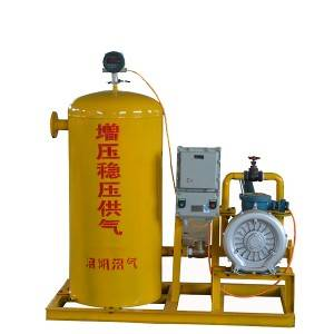 Gas boosting and stabilizing equipment