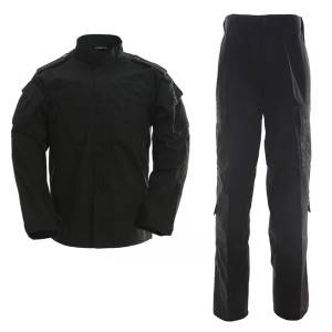 Military uniform black