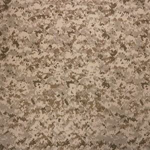 Nylon cotton desert camo fabric