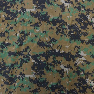 Saudi Arabia nylon cotton military fabric