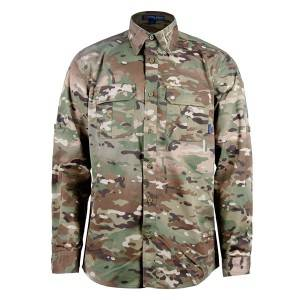 Multicam tactical long sleeve shirt