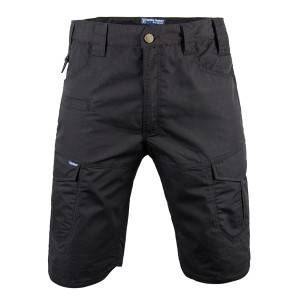 Black color tactical short pants