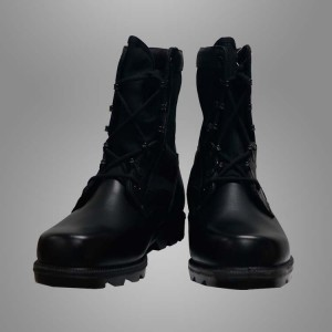 boots leather reş leşkerî