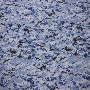 Blue military fabric for kuwait