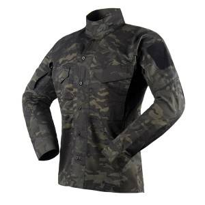 Multicam black tactical long sleeve shirt
