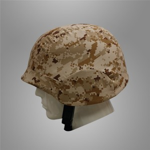 Military helmet cover