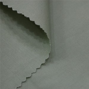 Polyester cotton poplin shirting fabric