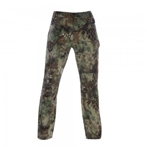 Military green python tactical gear pants