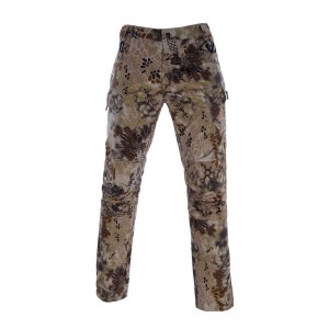 New style military kryptek camo trousers