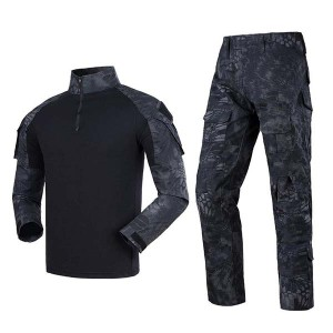 Outdoor mens kryptek camouflage uniform