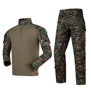 Woodland army military uniform