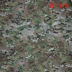 Nylon cotton multicam camo ripstop ilaphu