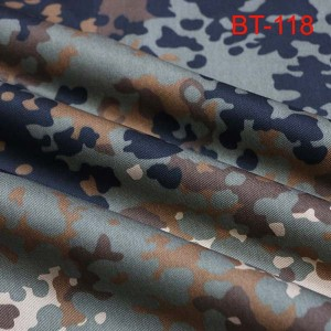 Germany desert Flecktarn camouflage fabric