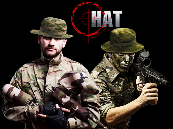 HAT MILITARY AC bere