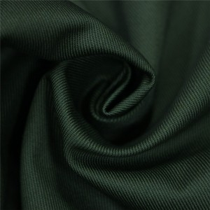 Dark green military uniform fabric